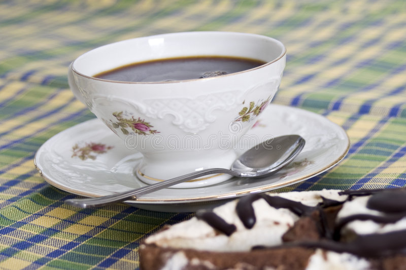 popołudniowa kawa zdjęcie stock
