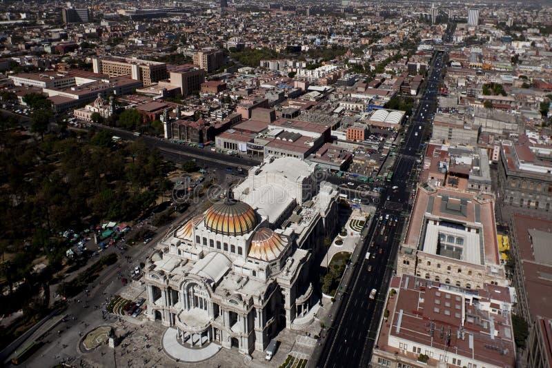 popołudniowy miasta Mexico vew zdjęcie stock