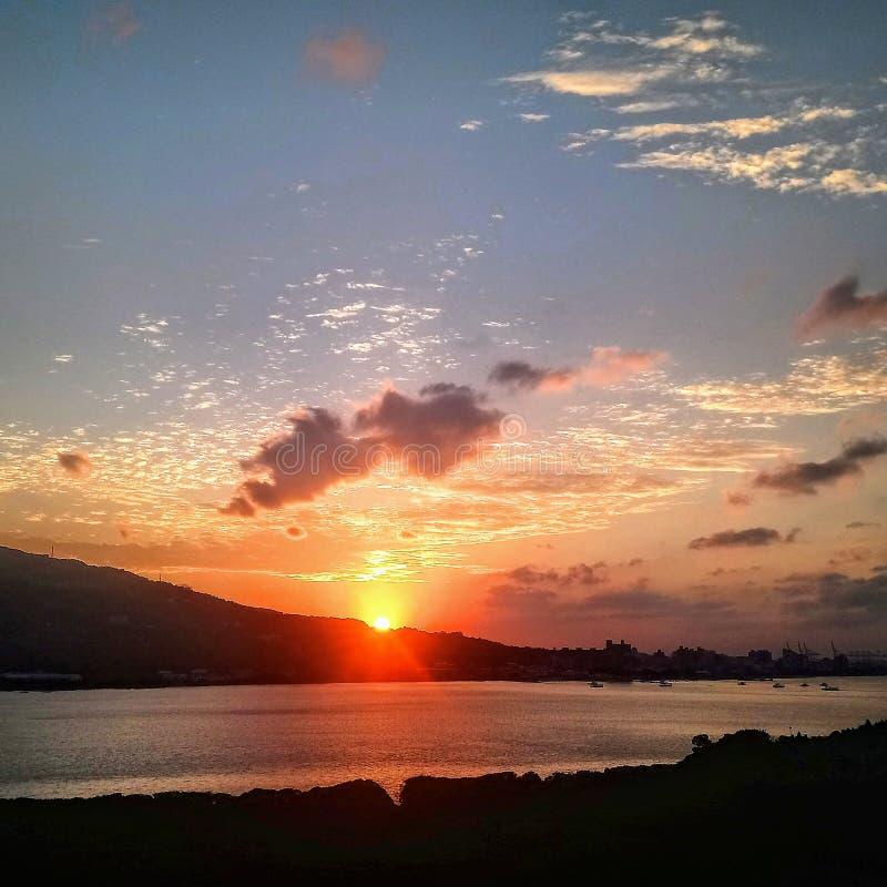 Popołudniowy słońce fotografia stock