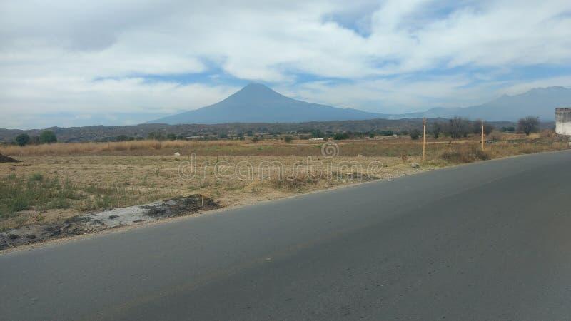 Popocatépetl à Puebla photographie stock