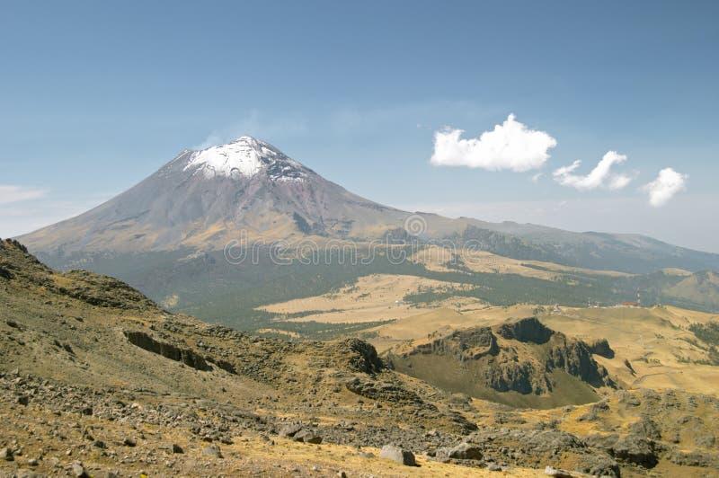 popocatepetl火山 库存图片