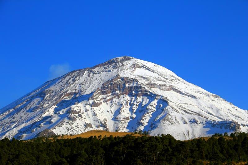Popocatepetl nationaal park III royalty-vrije stock foto's