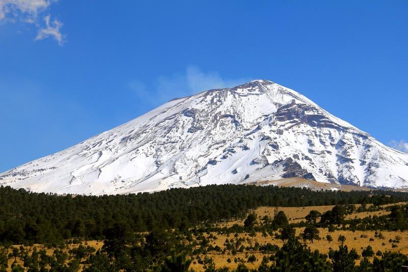 Popocatepetl nationaal park VII royalty-vrije stock foto