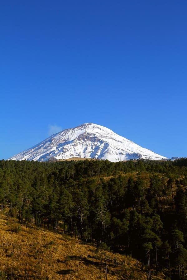 Popocatepetl nationalparkdropp royaltyfria foton