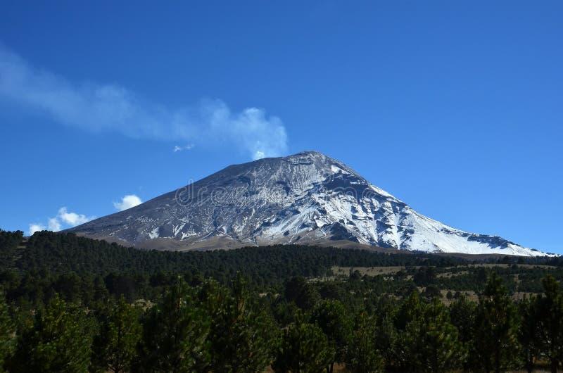 Popocatepetl Vulcan photos libres de droits