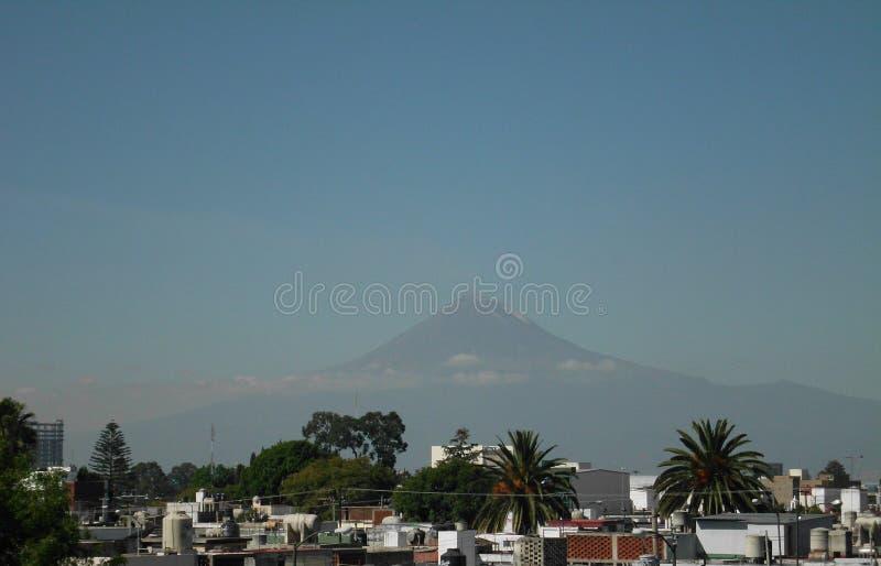 Popocatepetl Vulkan stockbilder