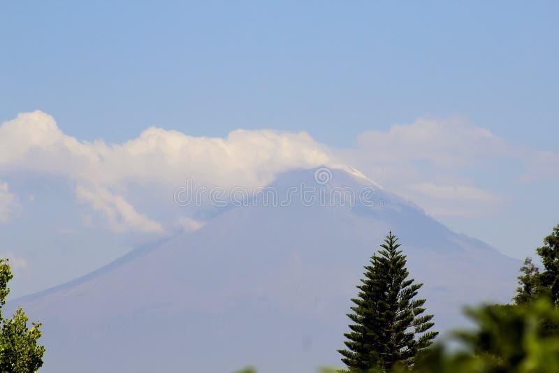 Popocatepetl Vulkan lizenzfreies stockbild
