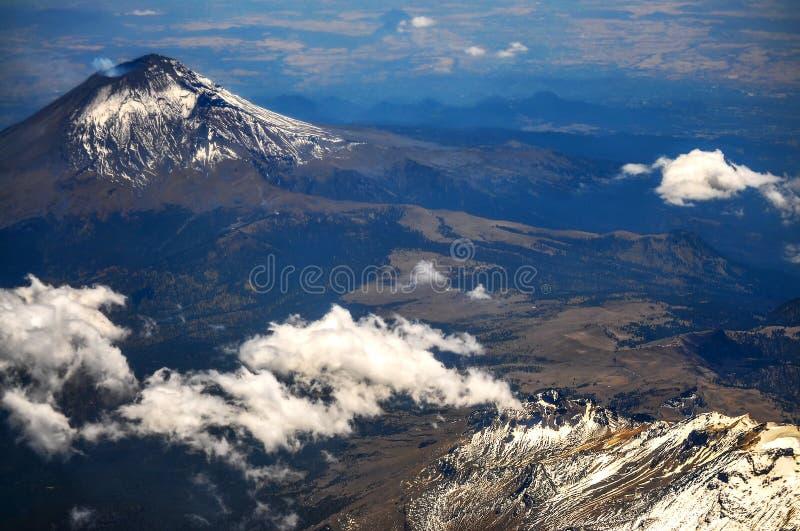 Popocatepetl-Vulkan lizenzfreie stockfotografie