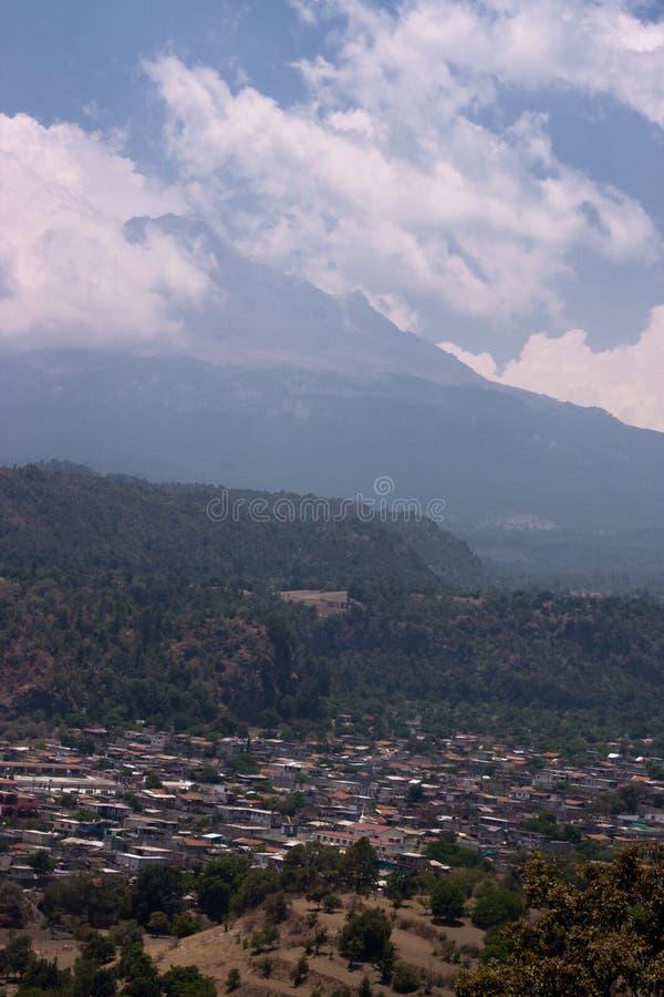 Popocatepetl Vulkan stockfoto