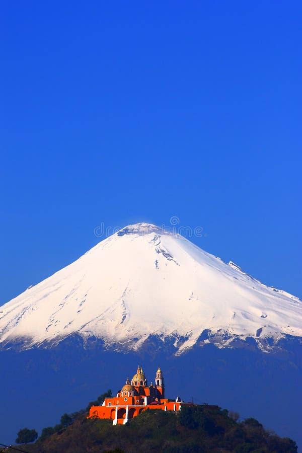 Popocatepetl-Vulkan I stockfotografie