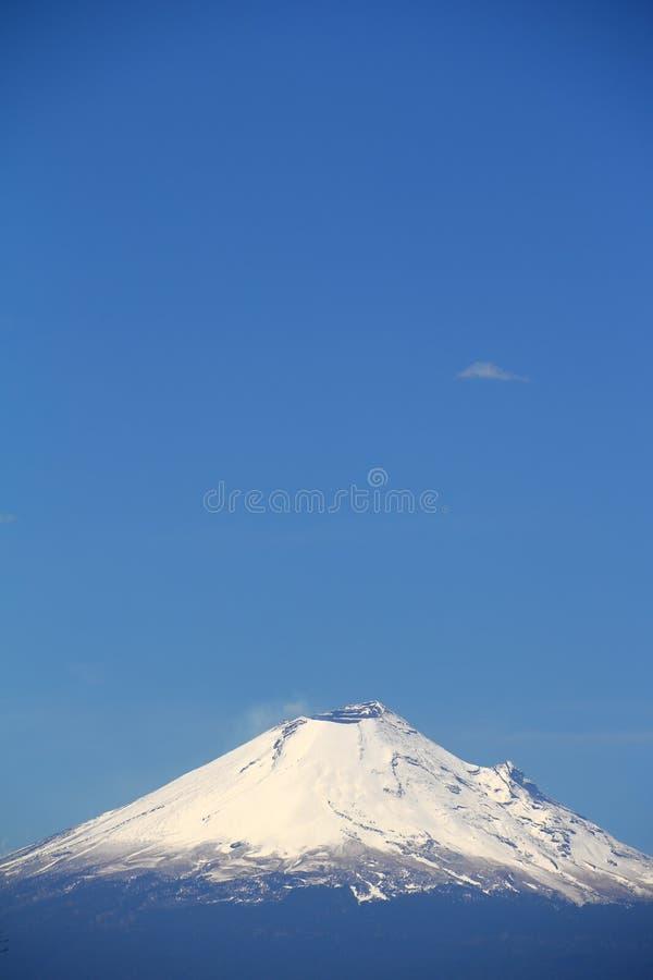 Popocatepetl-Vulkan V stockfotos