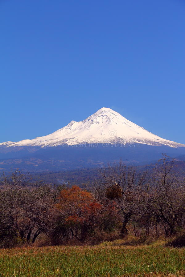Popocatepetl-Vulkan VIII lizenzfreies stockbild