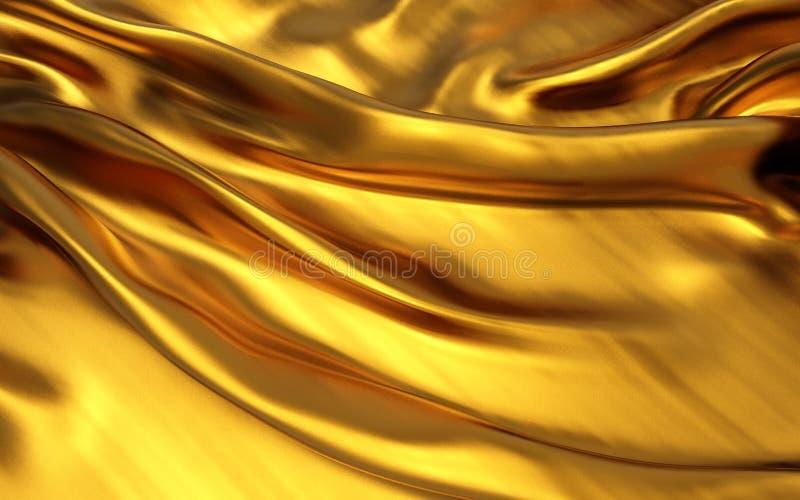 Popolare ondulati del materiale di seta del velluto del raso di struttura di lerciume o della progettazione elegante lussuosa o d illustrazione vettoriale