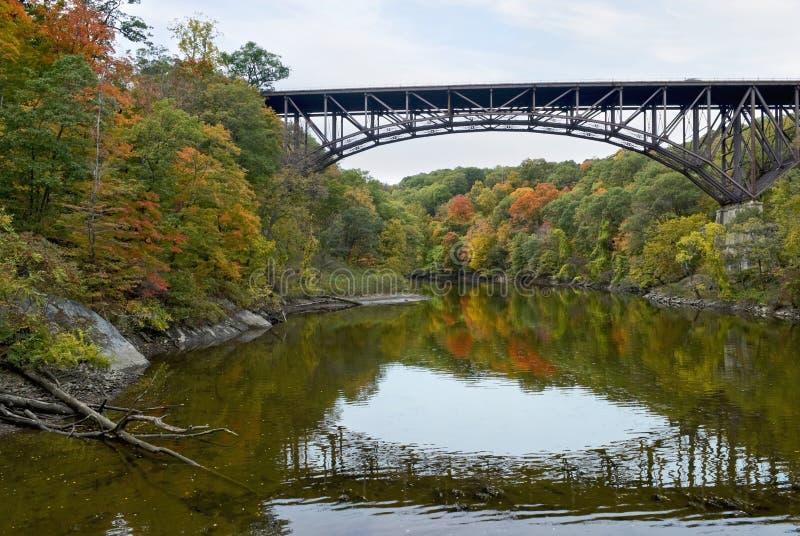 Popolopen Creek Arch Bridge royalty free stock photography