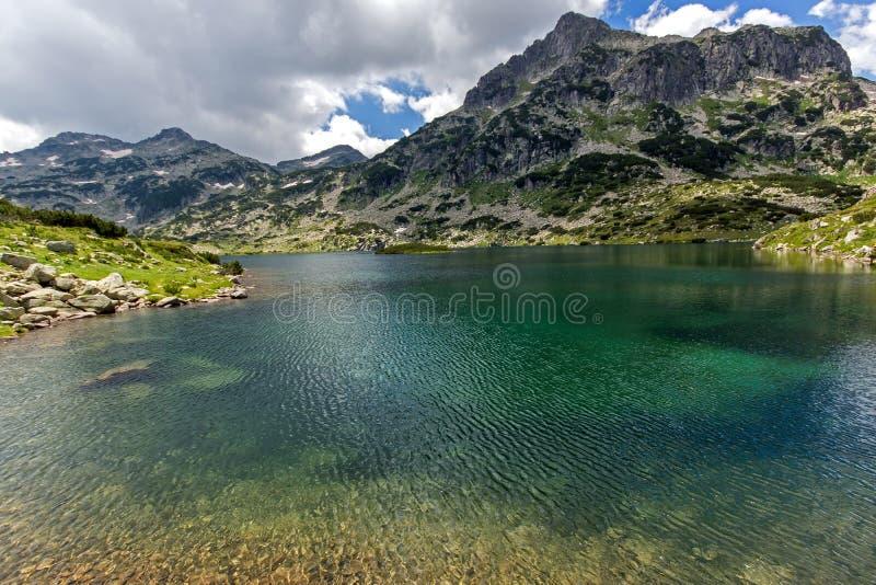 Popovo See, Pirin-Berg stockbild