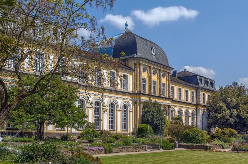 Poppelsdorf slott, Bonn, Tyskland royaltyfri fotografi