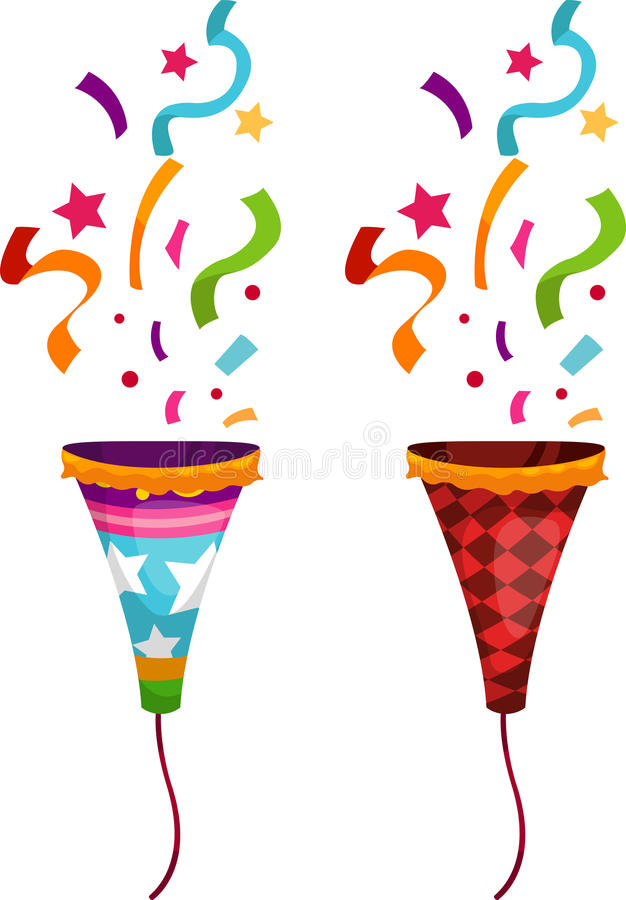 popper party vector stock vector illustration of celebrate 21597067 rh dreamstime com party vector design vectoriel party