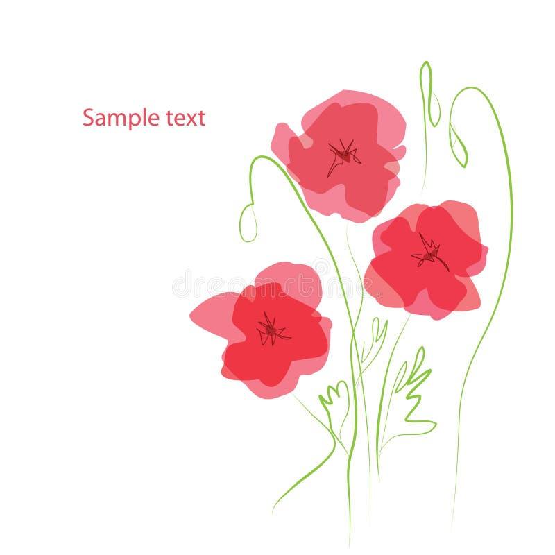 Download Poppies stock vector. Illustration of bloom, bravoin - 13866452