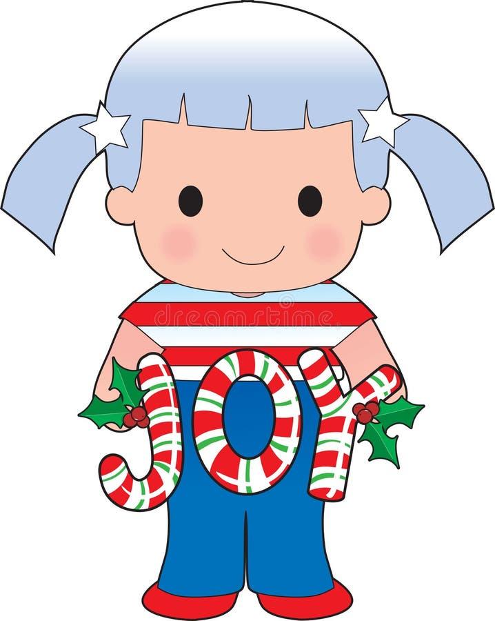 Poppy American Christmas royalty free illustration