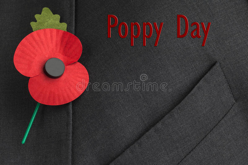 Download Poppy Appeal For Remembrance / Poppy Day. Stock Photo - Image: 30719862
