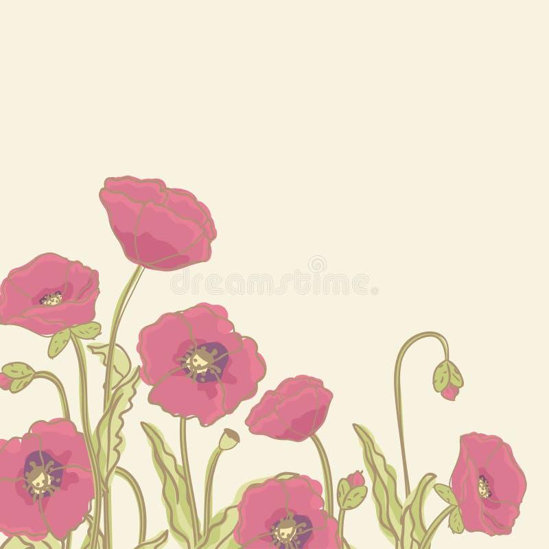 Download Poppy Border Royalty Free Stock Photo - Image: 28081385