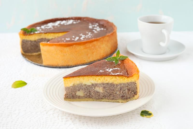 Poppy Seed Cake photos stock