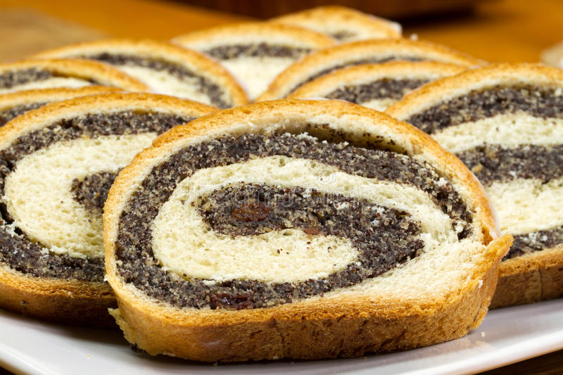 Download Poppy-seed cake stock image. Image of breakfast, decoration - 19361965