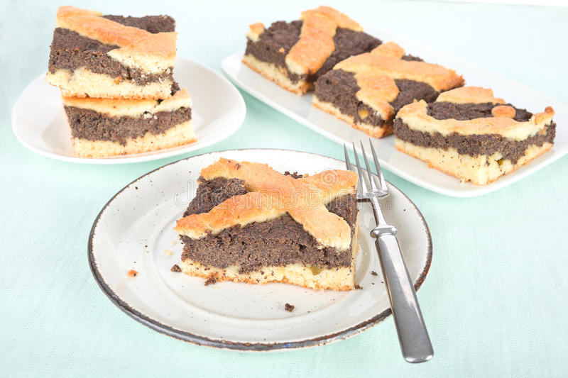Poppy Seed Cake images libres de droits