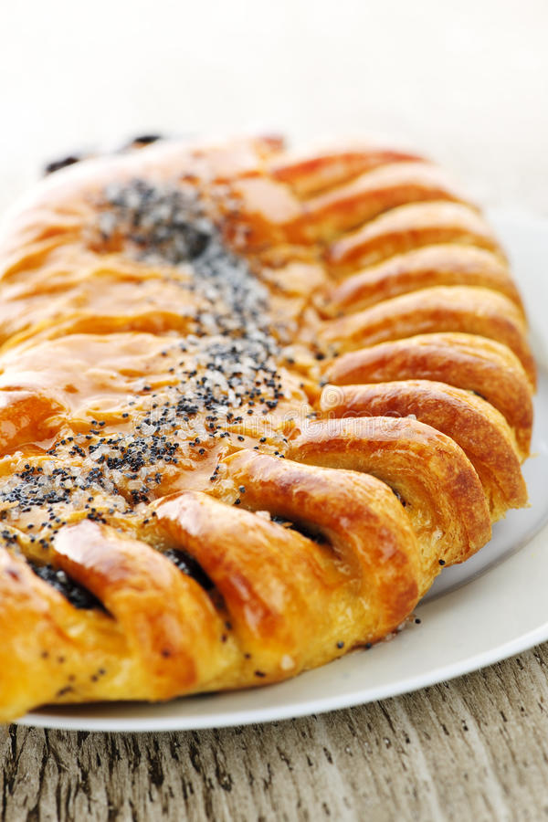 Download Poppy Seed Strudel Royalty Free Stock Photos - Image: 14814338