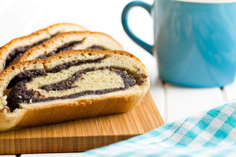 Download Poppy seed strudel stock image. Image of poppy, food - 38463457