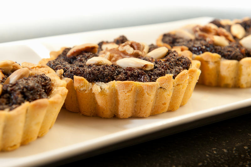 Download Poppy tarte on white plate stock image. Image of mincemeat - 17570301