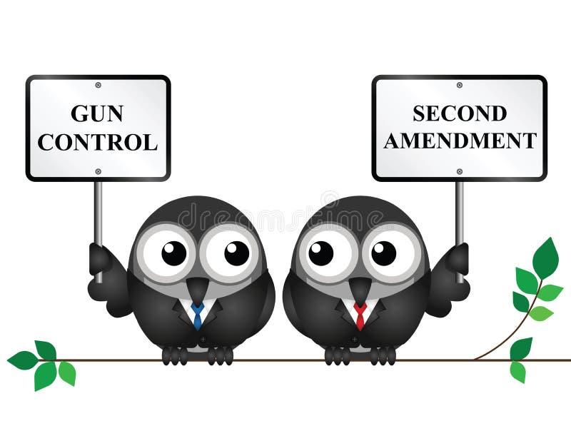 poprawka po drugie royalty ilustracja