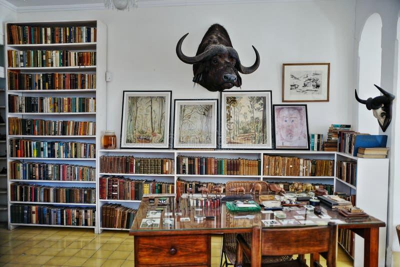 Poprzedni dom Ernest Hemingway w Kuba obraz royalty free