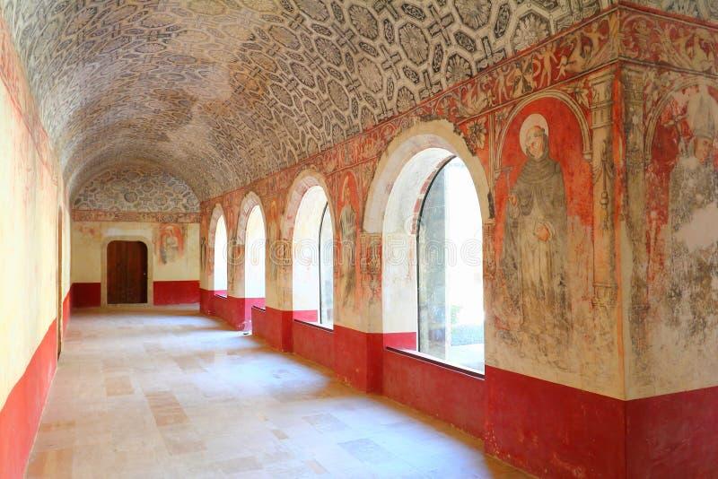 Poprzedni Dominikański klasztor San Juan Bautista VII obrazy stock