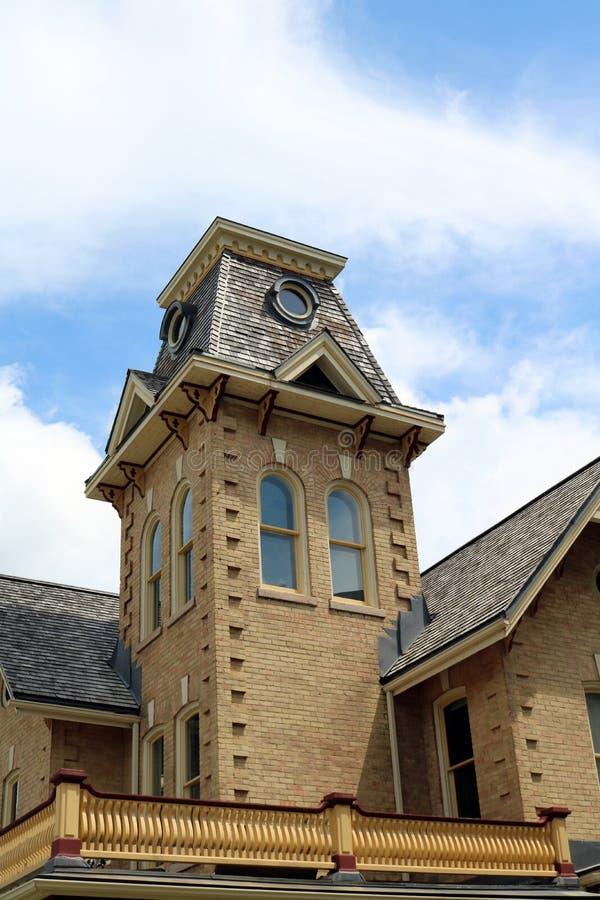 Poprzedni gubernatora ` s dom w Kitchener, Ontario zdjęcie stock