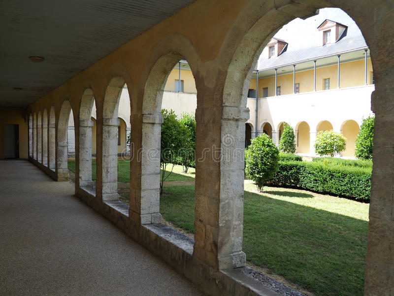 Poprzedni klasztor urszulanki obrazy stock