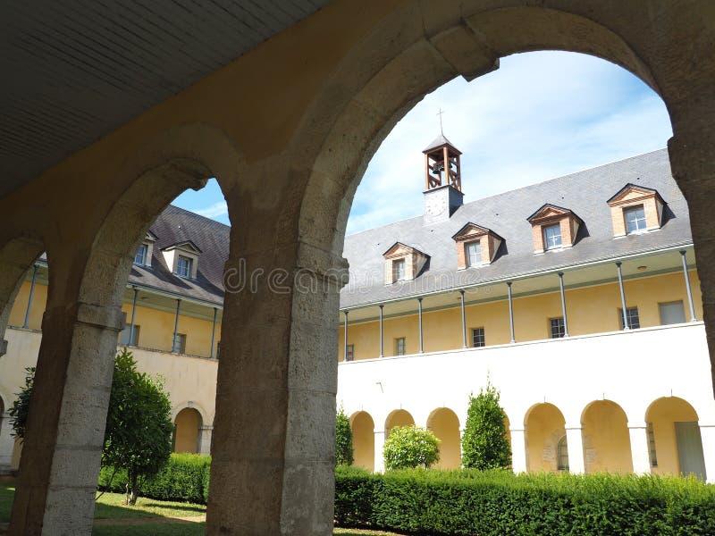 Poprzedni klasztor urszulanki obraz stock