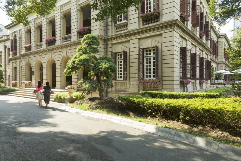 Poprzedni konsulat generalny Zjednoczone Królestwo, Szanghaj, Chiny obraz stock