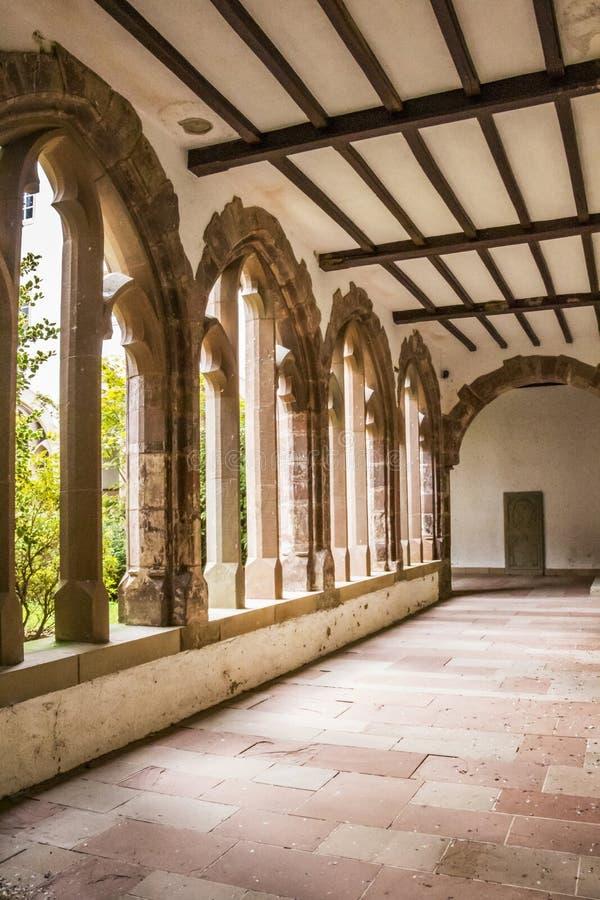 Poprzedni przyklasztorny Trynitarski kościół w Vianden, Luksemburg zdjęcie stock