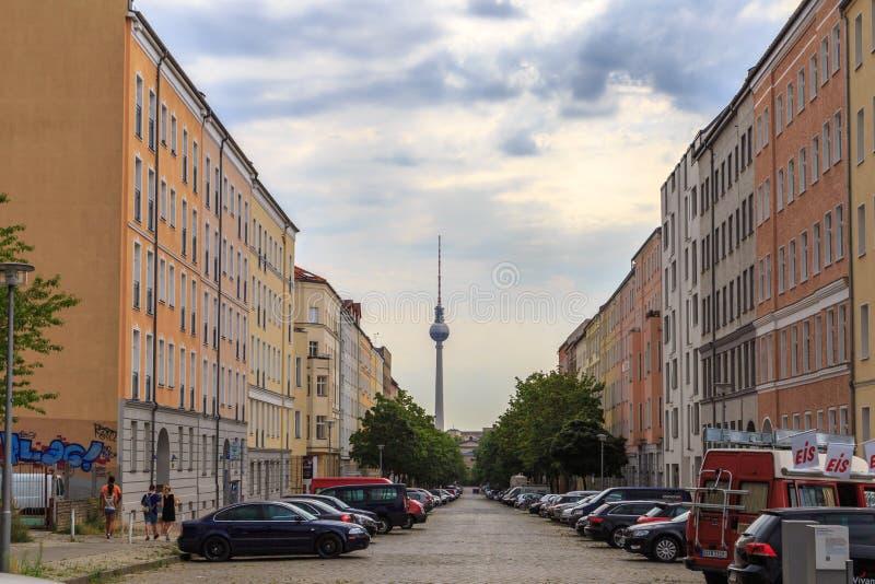 Poprzedni Wschodni Berlin obrazy stock