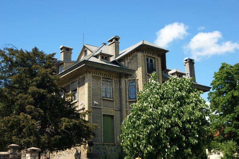 Poprzednia ambasada francuska w Cetinje zdjęcie royalty free