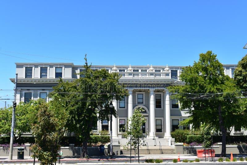 Poprzednia Lincoln prawa szkoły teraz część uniwersytet San Fransisco obraz royalty free