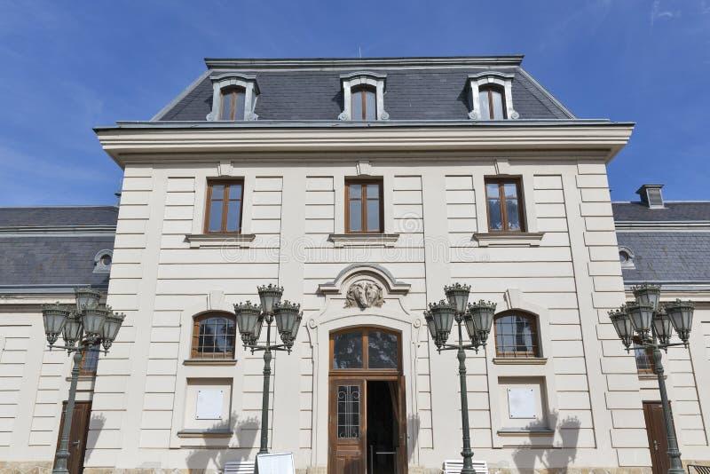 Poprzednia stajenka i kareciany dom, Festetics kasztel, Keszthely, Węgry fotografia royalty free