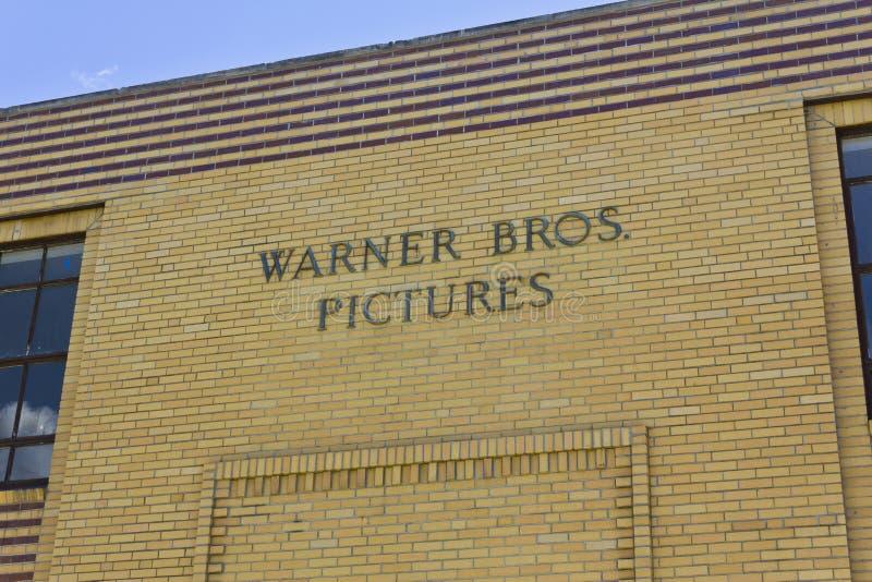 Poprzednich Warner braci obrazków Ekranowy centrum dystrybucyjne Ja fotografia royalty free