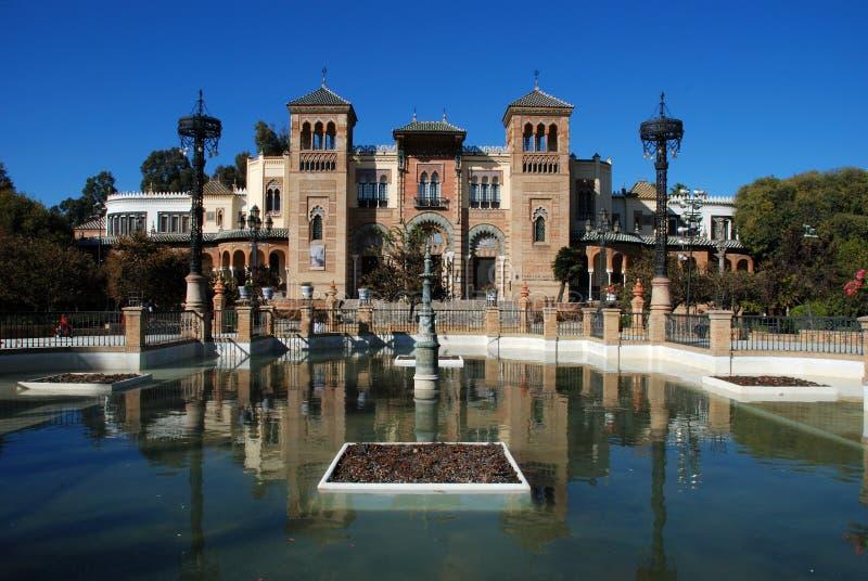 Populära konster museum, Seville, Spanien. arkivfoton