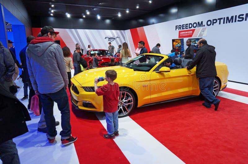 Populärer Ford Mustang Display stockbilder
