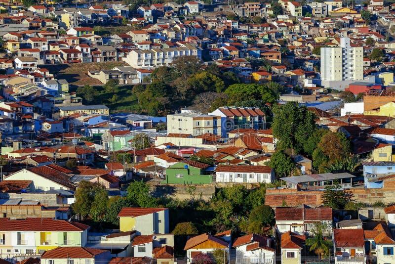 Populärer Wohnungsbau, Brasilien lizenzfreie stockfotos