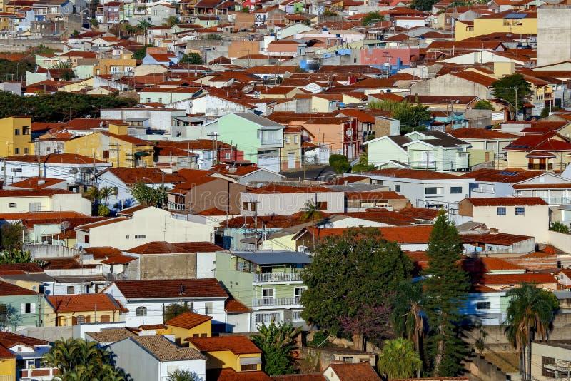 Populärer Wohnungsbau, Brasilien lizenzfreie stockfotografie