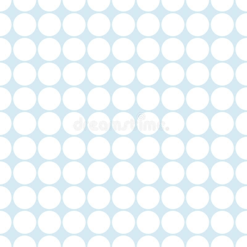 Populaire abstracte lichtblauwe Europese schitterende ovale cirkelstapel royalty-vrije illustratie