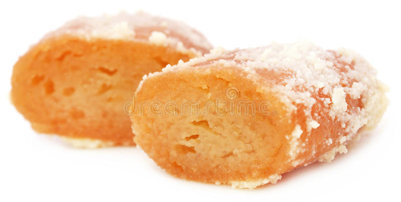 Populaire Inwoner van Bangladesh Snoepjes Chamcham stock foto's